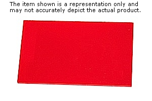 """2 Sheets 3//16/""""  2283 Translucent Red Cell Cast Acrylic Sheet  12/"""" x 12/"""""""
